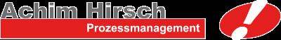 Achim Hirsch Prozessmanagement